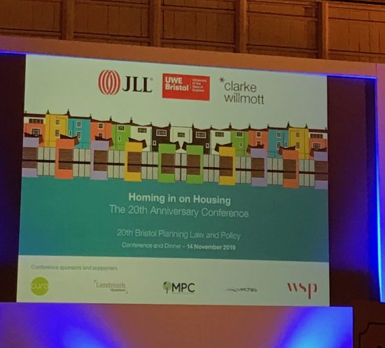 Bristol Planning Law conference