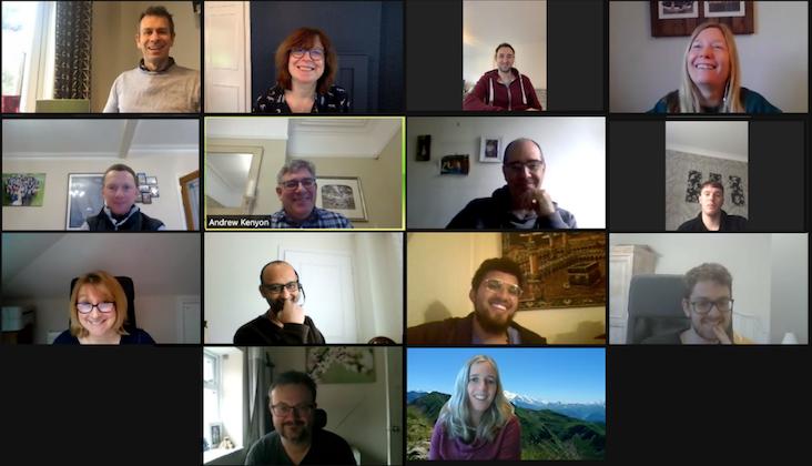 PEP team zoom meeting
